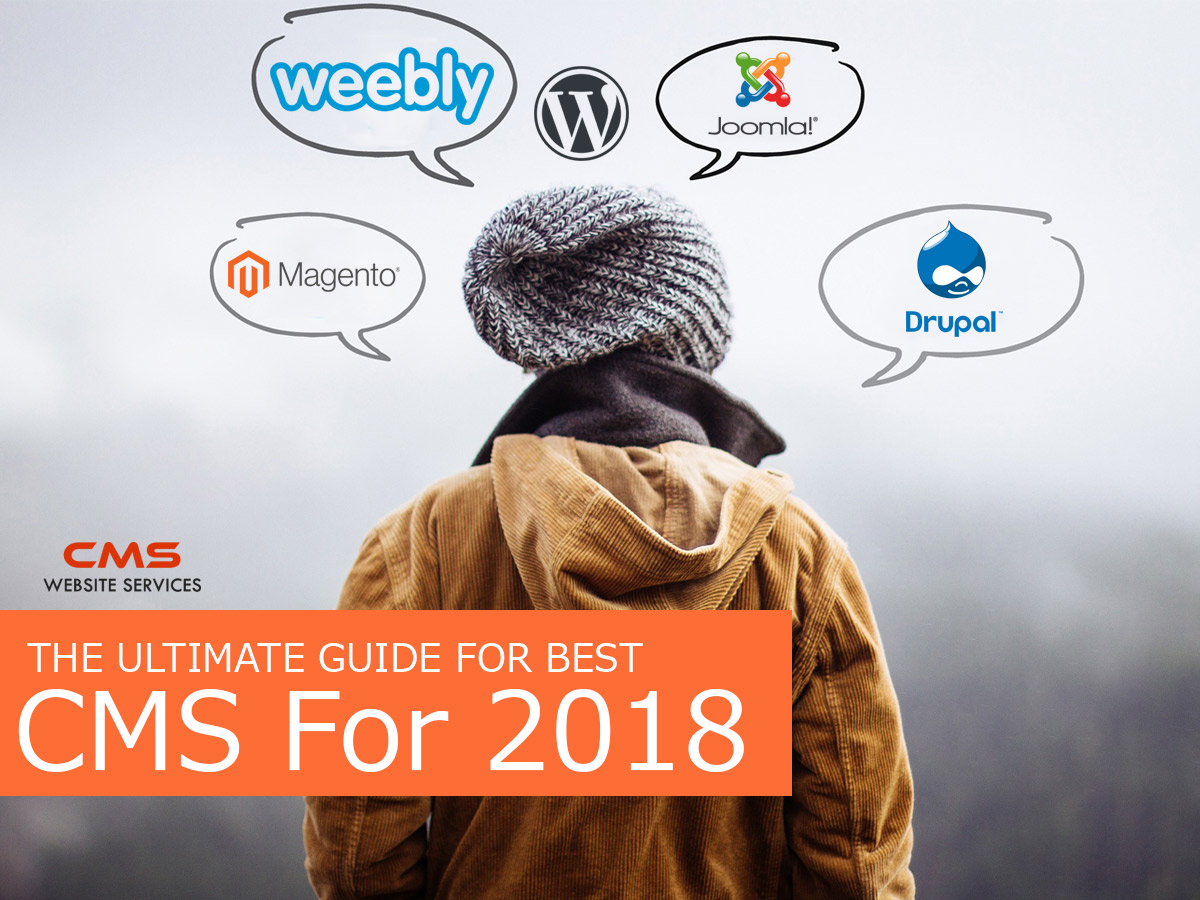 The Ultimate Guide for Best CMS for 2019
