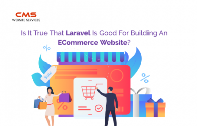 eCommerce Website Development in Laravel