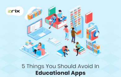 Things to avoid in educational apps